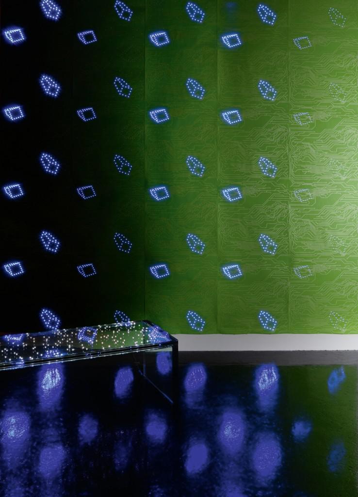 led wallpaper by ingo maurer revolutionizing home decor