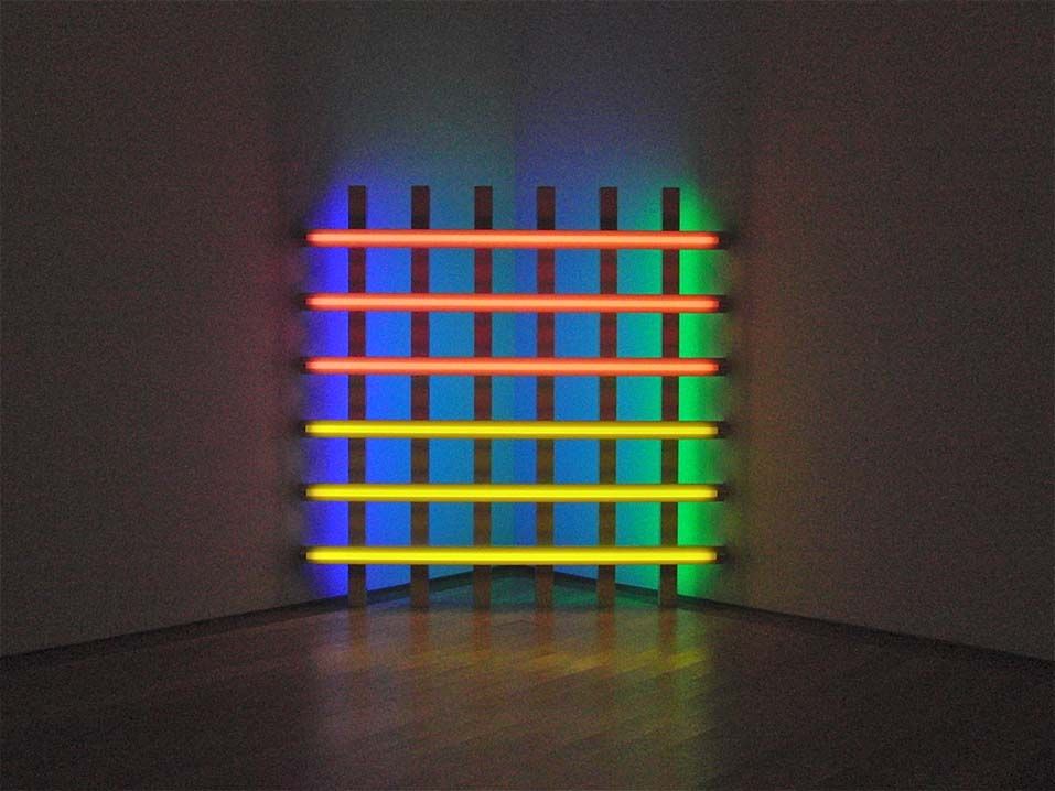 Dan Flavin S Fluorescent Light Works Inspire Oikos Oikos