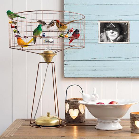 Graham and Green - Bird Cage Lamp