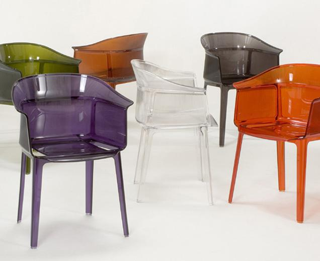 papyrus chair by kartell linear and well defined oikos blog