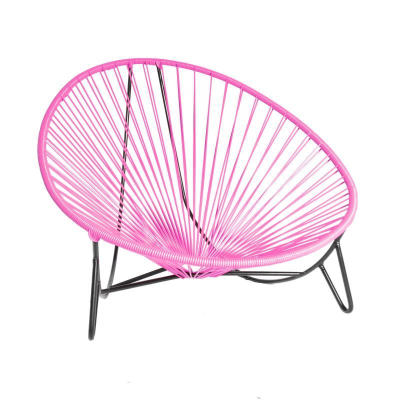 tulum lounger pink