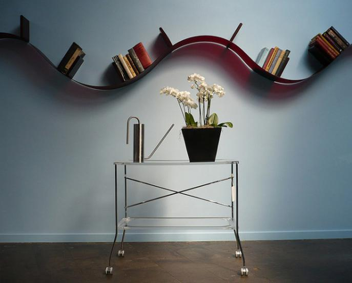BOOKWORM BY RON ARAD FOR KARTELL - UNLIMITED SHAPES - Oikos Blog