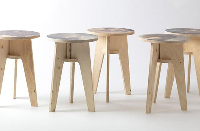 Piet-Hein-Eek-Creates-Stools-Printed-with-Classic-Artworks-01