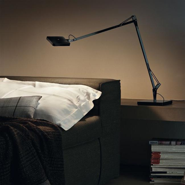 kelvin led lamp by flos caressing and impressing oikos. Black Bedroom Furniture Sets. Home Design Ideas