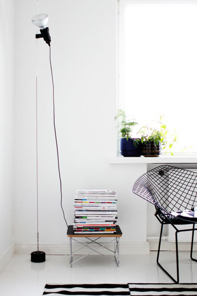 Parentesi Lamp By Flos From Ceiling To Floor Oikos Blog