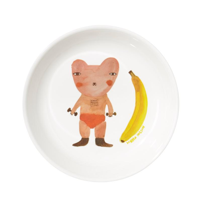 Melamine-Tableware-Plate-Top-Banana-800x800